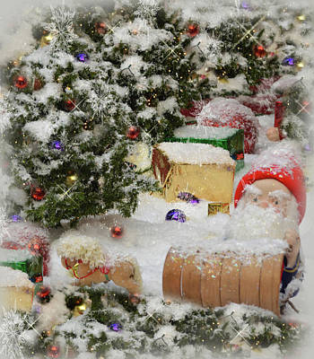 Photograph - Deep In Christmas Trees 2 by Leticia Latocki