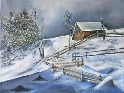 Painting - Deep In December by Terry R MacDonald