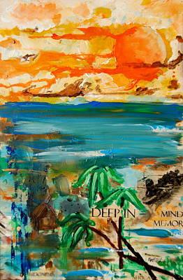 Deep In Mind Memory Art Print by Nathan Paul Gibbs