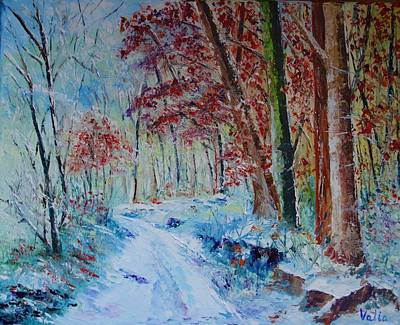 Painting - Deep In The Forest by Valerie Curtiss