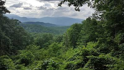 Deep In The Great Smoky Mountains Art Print by John Arthur Robinson