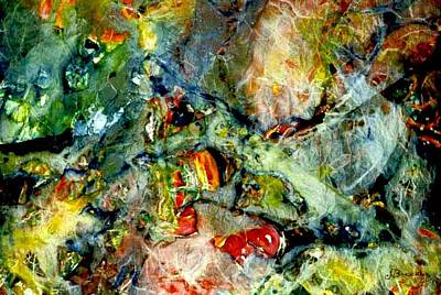 Deep In The Sea Art Print by Norma Boeckler