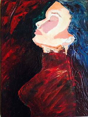 Hard Times Painting - Deep In Thought by Dessie  Sutej