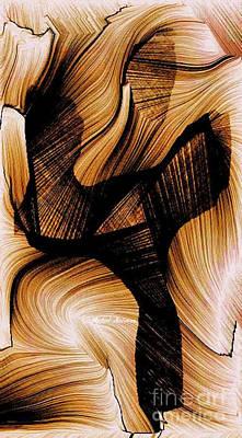 Digital Art - Deep Inside by Rafael Salazar