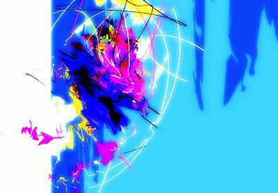 Ps I Love You - Deep Blue Light by Jade Kai