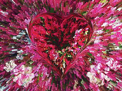 Digital Art - Deep Love by David Pantuso