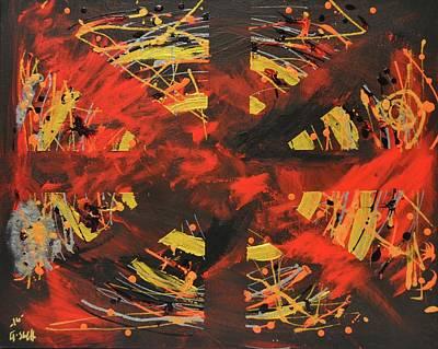 Deep Odyssey Original by Art by G-Sheff