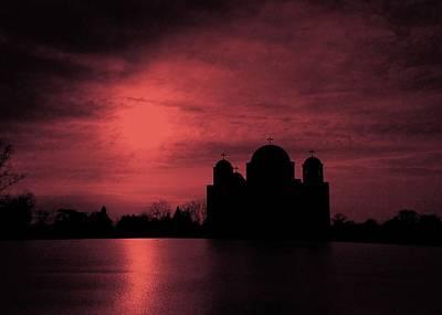 11th Digital Art - Deep Purple Petka by 2141 Photography