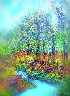 Digital Art - Deep River Spirit by Joel Bruce Wallach