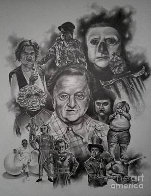 Neverending Story Drawing - Deep Roy by James Rodgers