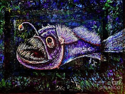 Painting - Deep Sea 1 by Viktor Lazarev