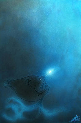 Painting - Deep Sea IIi by Robin Street-Morris