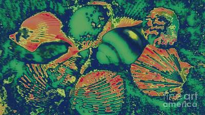 Digital Art - Deep Sea Journey by Rachel Hannah