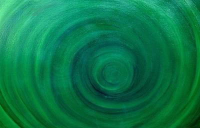Deep Sea Spiral Original by Holly Anderson