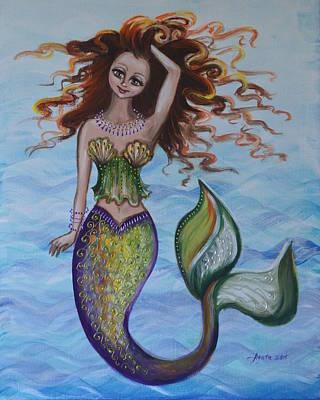 Deep Sea Style Art Print