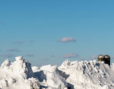 Photograph - Deep Snow by SG Atkinson