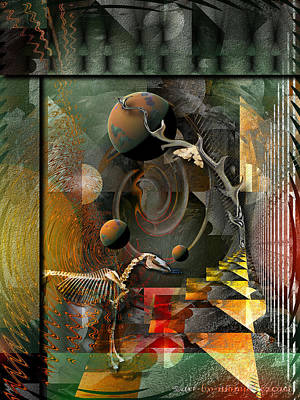 Subconscious Digital Art - Deep Soul Journey by Mimulux patricia no No