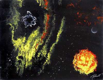 Deep Space Art Painting - Deep Space by Randall Marmet