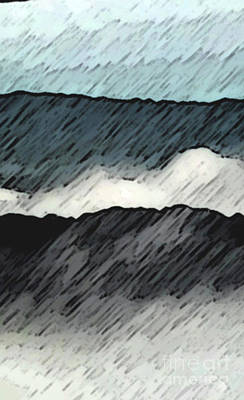 Photograph - Deep Storm 1 by EGiclee Digital Prints