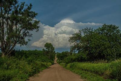 Photograph - Deep Summer Track by Jim Bunstock