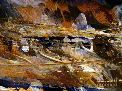Painting - Deep Time 2 by Nancy Kane Chapman