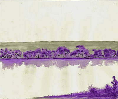 Fort Collins Drawing - Deep Transparency by Joshua Beard