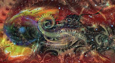 Digital Art - Deep Vibe by Linda Sannuti