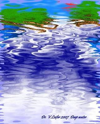 Deep Water Art Print by Dr Loifer Vladimir