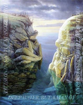Painting - Deep Water by Graham Braddock