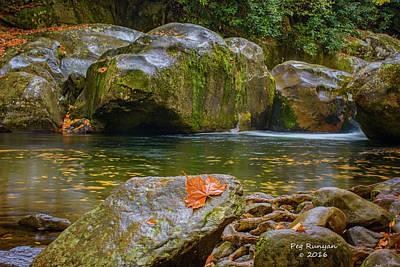 Photograph - Deep Water by Peg Runyan