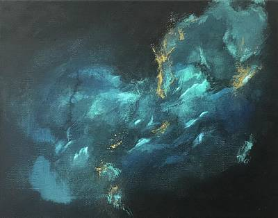 Painting - Deep Waters - Mini IIi by Analisa Chase