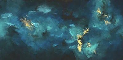 Painting - Deep Waters - Mini V by Analisa Chase