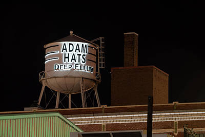 Photograph - Deepellum Adams Hats 030818 by Rospotte Photography