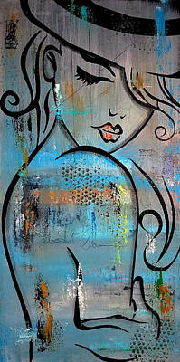 Tom Fedro Wall Art - Painting - Deeper Love by Tom Fedro - Fidostudio