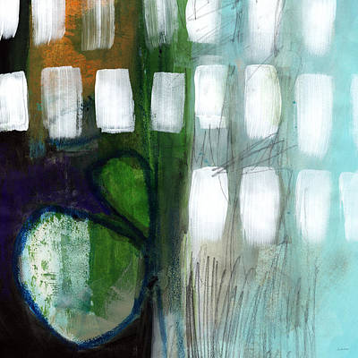 Modern Abstract Mixed Media - Deeper Meaning by Linda Woods