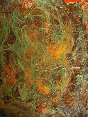 Reds Painting - Deepest Depths by Karen Lillard
