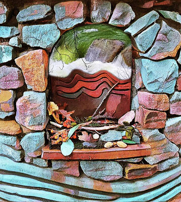 Digital Art - Deer Creek Altar by Lisa Redfern