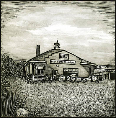 Deer Creek Creamery Art Print