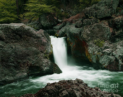 Photograph - Deer Creek Falls by Peter Piatt