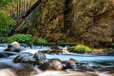Photograph - Deer Creek by James Eddy