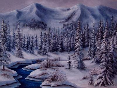 Painting - Deer Creek by Katia Aho
