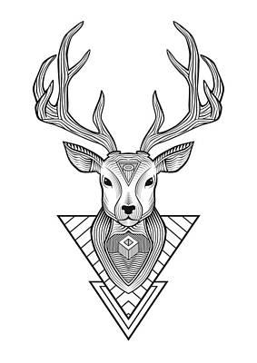 Detalhes Digital Art - Deer - Custom by Renato Kolberg