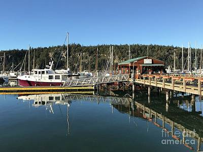 Photograph - Deer Harbor In January  by William Wyckoff