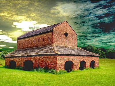 Photograph - Deer House  by Isabella F Abbie Shores FRSA
