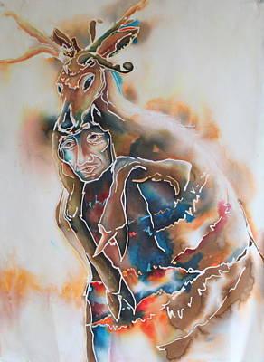 Deer Hunter No.1 Original by Catherine Foster