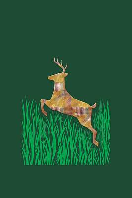 Photograph - Deer In Grass by Aimee L Maher Photography and Art Visit ALMGallerydotcom