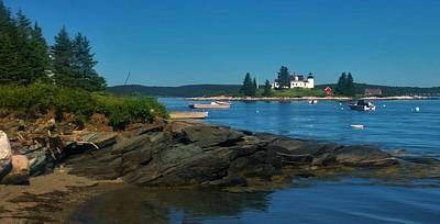 Photograph - Deer Island Maine by Lisa Dunn
