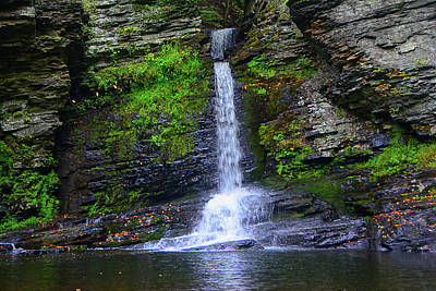 Photograph - Deer Leap Falls by Raymond Salani III