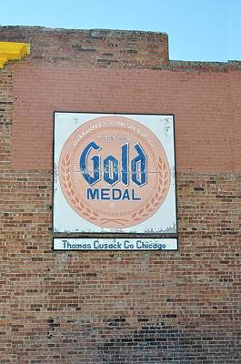 Cusack Photograph - Deer Lodge Montana - Gold Medal by Image Takers Photography LLC - Laura Morgan