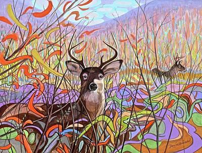 Deer Meadow Original by Paul Breeden